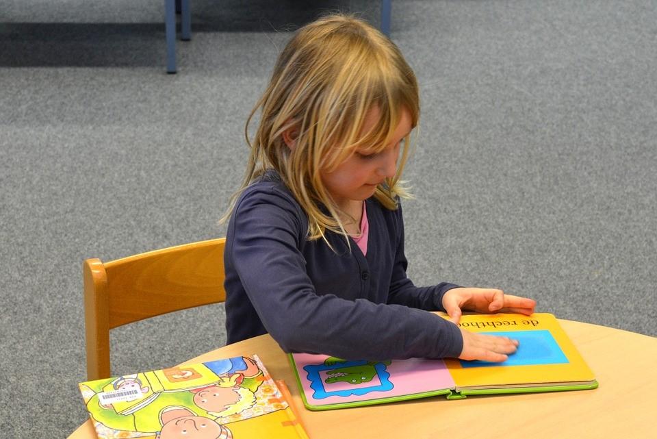 Child with Homework